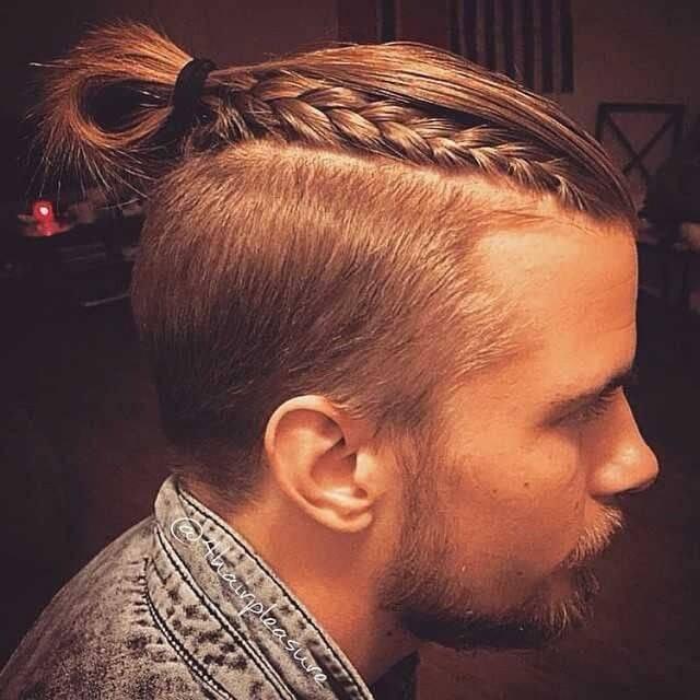 Trenzas para hombres con el pelo corto