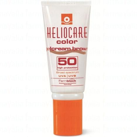 heliocare spf50 color brown